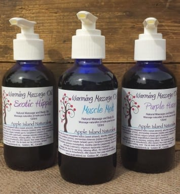 muscle melt natural massage oil