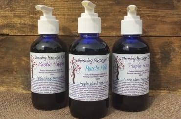 Warming Massage Oil