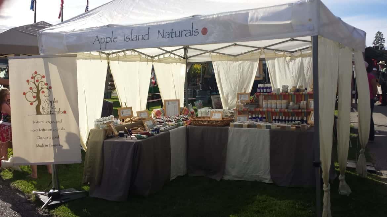 Apple Island at Hackett Park Craft Fair